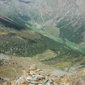 Süd Tirol in Italien liegt mitten in den Alpen