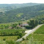 Chiantigebiet in Florenz