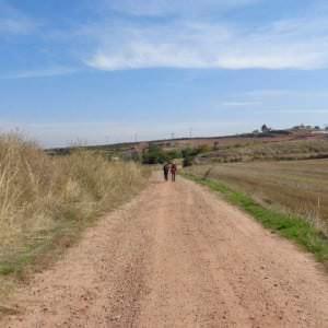 Jakobswegs-Inland Spanien
