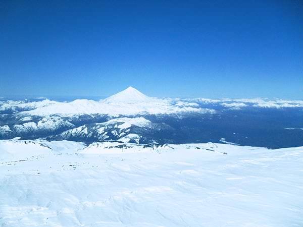 Aussicht vom Vulkan Villarica