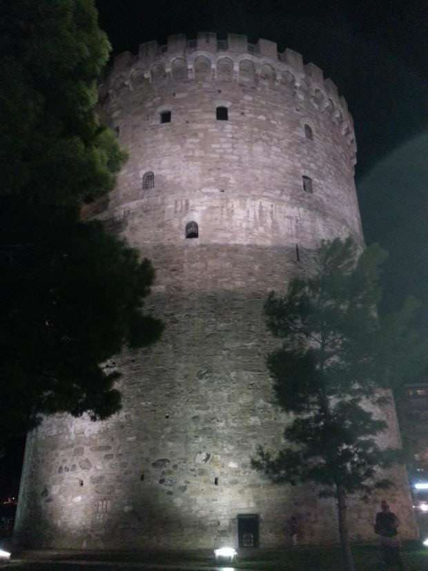 white tower by night 2