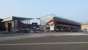 Stadion von St. Pauli in Hamburg