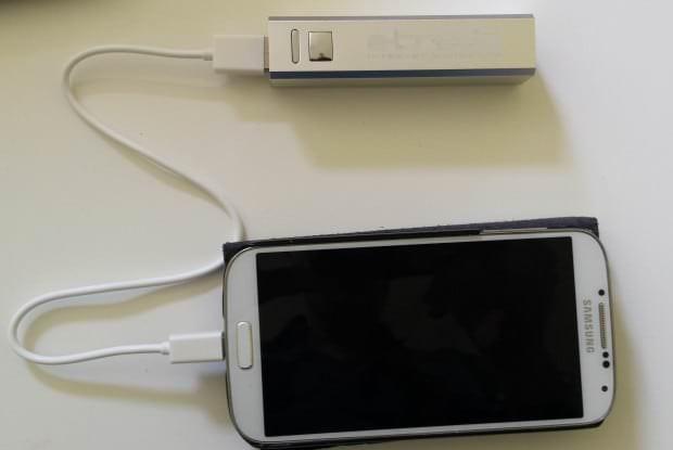 Powerbank für das Smartphone