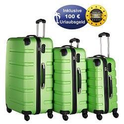 Reisekoffer-Set mit Reisegutschein