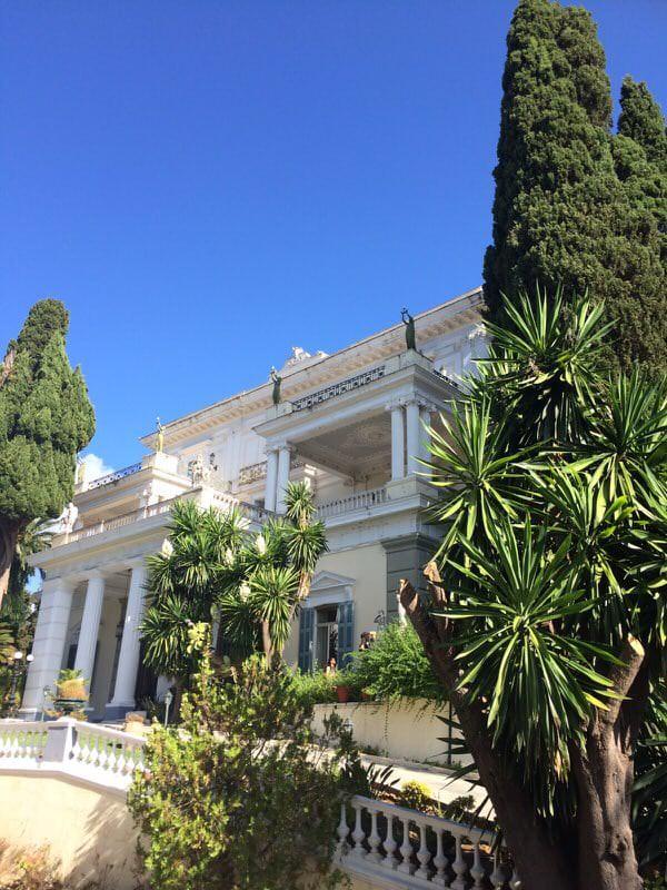 Das Schloss von Sissi | Achilleion auf Korfu