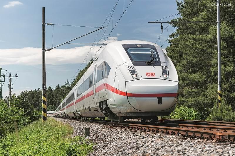 Die Deutsche Bahn stellt neuen ICE4 vor