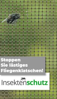 Stoppen Sie lästiges Fliegenklatschen! Insektenschutz leicht gemacht!