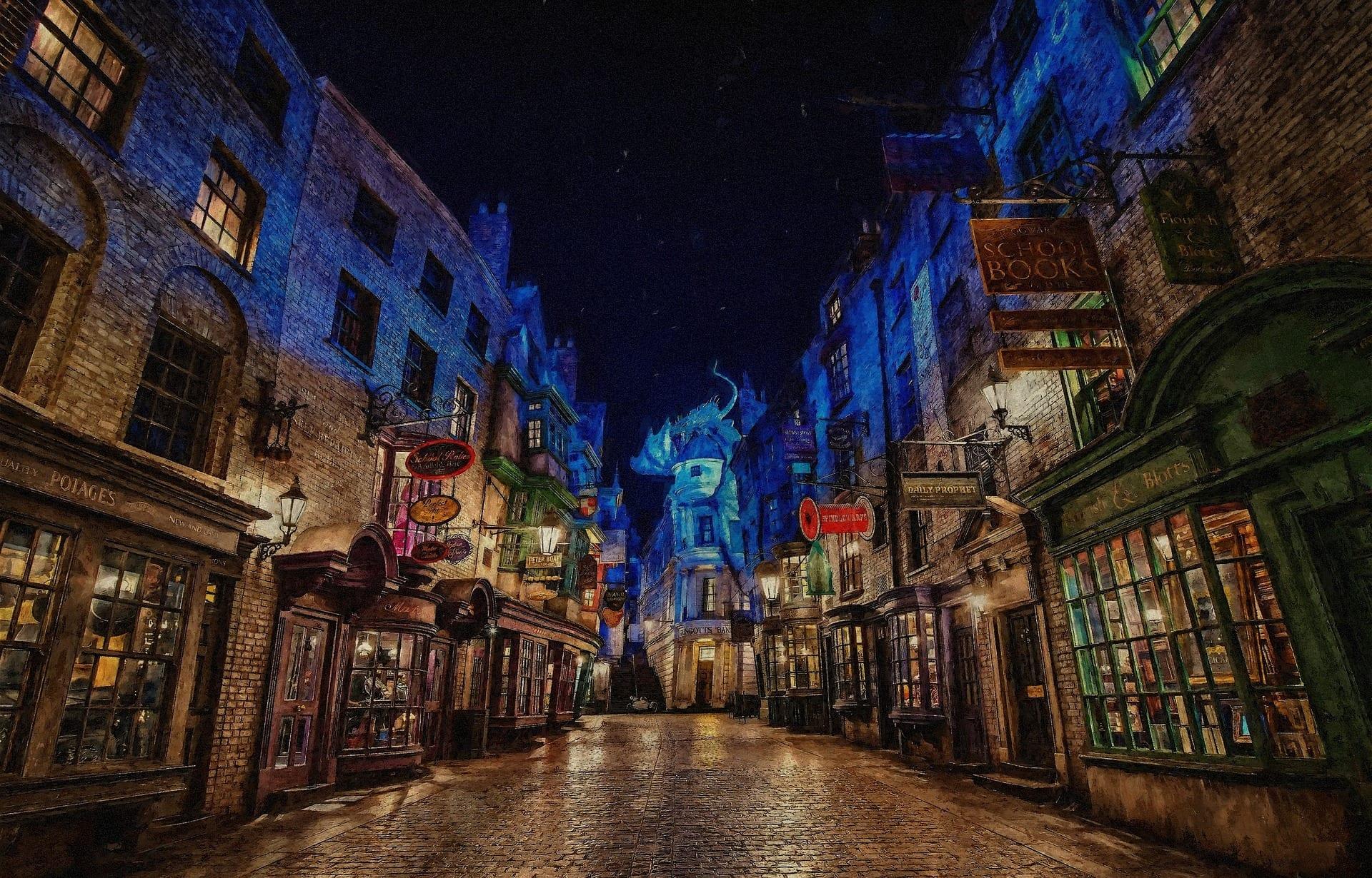 Harry Potter hautnah
